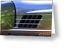 300 Gullwing Mercedes Greeting Card