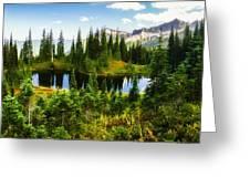 30920-55 Trailside Lake Greeting Card