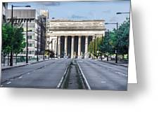 30th Street Station From Jfk Blvd Greeting Card