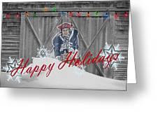 New England Patriots Greeting Card