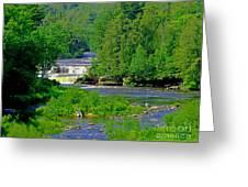 Tahquamenon Falls Greeting Card