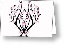 Art Tree Greeting Card
