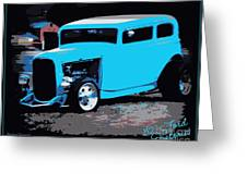 32 Ford Victoria  Greeting Card