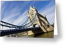 Tower Bridge London Greeting Card