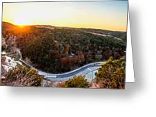 Turner Falls Oklahoma Greeting Card