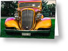 33 Chevy Greeting Card
