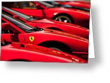Ferrari Emblem Greeting Card