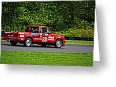 33 Jeep Motorsports Greeting Card