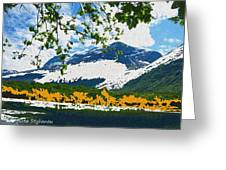 Norway  Landscape Greeting Card