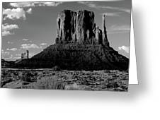 Rock Formations On A Landscape Greeting Card