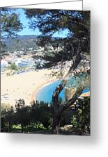 Tossa De Mar Costa Brava Greeting Card