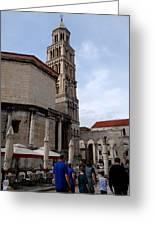 Views Of Split Croatia Greeting Card