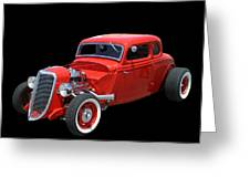 34 Ford Coupe Greeting Card
