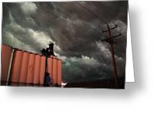 Nebraska Panhandle Supercells Greeting Card