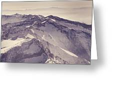 3.478 Meters Aerial Retro Greeting Card