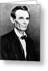 Abraham Lincoln (1809-1865) Greeting Card