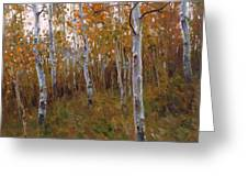 Oil Painting Greeting Card