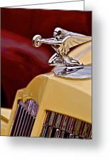 36 Packard Greeting Card