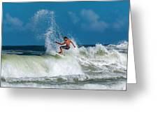 Surfing Fun Greeting Card