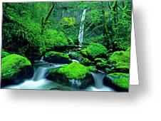 Usa, Oregon, Columbia River Gorge Greeting Card