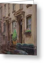 36th Street Ny Residence Of Fdr Greeting Card