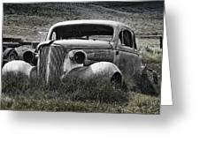 37 Chev Greeting Card