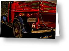 37 Ranch Truck Greeting Card