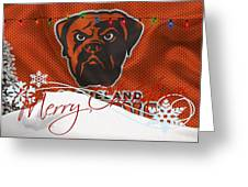 Cleveland Browns Greeting Card