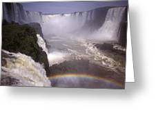 Iguazu Falls National Park, Argentina Greeting Card