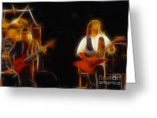 38 Special-94-larry N Jeff-gb20a-fractal Greeting Card