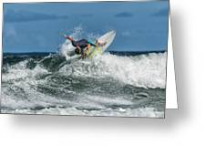 Surfing Fun Greeting Card