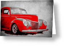 39 Ford Greeting Card