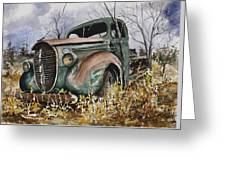 39 Ford Truck Greeting Card