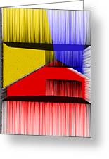 3d Abstract 1 Greeting Card