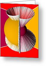 3d Abstract 16 Greeting Card by Angelina Vick