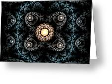 3d Abstract Carpet  Greeting Card