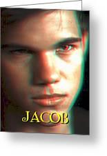3d Jacob Greeting Card