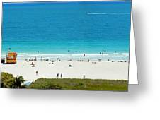 3rd Ocean Lifeguard Greeting Card