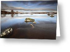 Lochan Na H-achlaise Greeting Card by Grant Glendinning