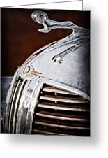 1938 Dodge Ram Hood Ornament Greeting Card