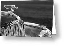 1942 Packard Darrin Convertible Victoria Hood Ornament Greeting Card