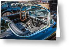 1959 Chevy Corvette Convertible Painted  Greeting Card