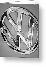 1959 Volkswagen Vw Panel Delivery Van Emblem Greeting Card