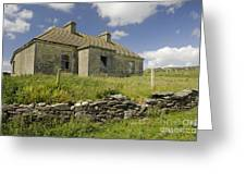 Abandoned Farm In Ireland Greeting Card