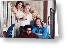 All In The Family  Greeting Card by Silver Screen