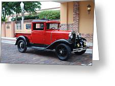 Antique Truck Greeting Card