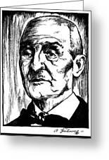 Anton Bruckner (1824-1896) Greeting Card