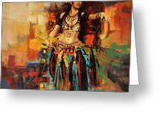 Belly Dancer 9 Greeting Card