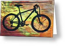 Bike 10 Greeting Card by William Cauthern
