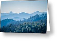 Blue Ridge Parkway Winter Scenes In February Greeting Card